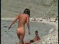 Nu328# Voyeur video from nude beach