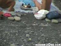 Nu78# Voyeur video from nude beach