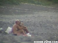 Nu72# Voyeur video from nude beach