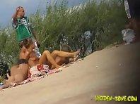 Nu459# Voyeur video from nude beach