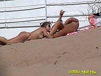 Nu747# Voyeur video from nude beach
