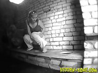Wc708# Voyeur video from toilet