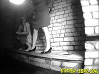 Wc711# Voyeur video from toilet