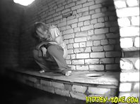 Wc710# Voyeur video from toilet