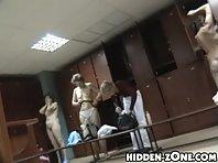Lo246# Voyeur video from locker room