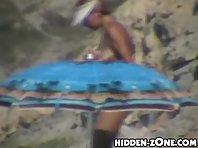 Nu408# Voyeur video from nude beach