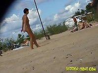 Nu494# Voyeur video from nude beach