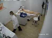 Spy camera in the beauty salon