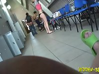 Lo567# Voyeur video from locker room