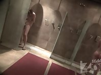 Sh1898# Our agents carried into the women's shower hidden camera. Now everything is available that y