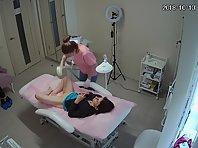 Voyeur in cosmetic salon #7