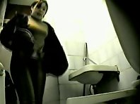 Wc58# Voyeur video from toilet