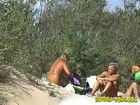 Nu453# Voyeur video from nude beach