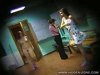 Lo331# Voyeur video from locker room