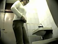 Wc118# Voyeur video from toilet