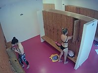Lo1851# We all love to look into the women's locker room. To admire the naked beauties is always ver
