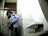 Wc141# Voyeur video from toilet