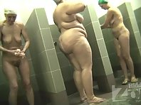 Sh1985# All showers are busy! Of all the women, a fat woman with huge tits stands out. You rarely se