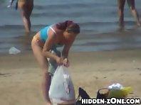 Nu313# Voyeur video from nude beach