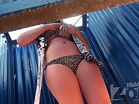 Bc1799# Young girl dressed slowly bra. Her gorgeous tits hit it directly into the lens of our hidd