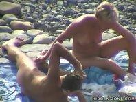Nu128# Voyeur video from nude beach