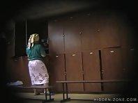 Lo151# Voyeur video from locker room