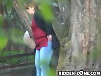 Wc285# Voyeur video from toilet