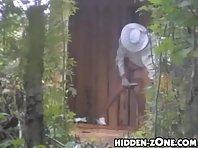 Wc182# Voyeur video from toilet