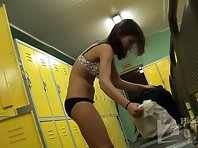 Lo1169# A young woman completely undressed in front of our camera. A wonderful sight!