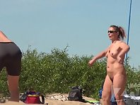 Nu1681# The game continues, and we continue to admire the naked girls. Close-ups of pussy particul