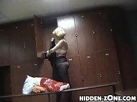 Lo177# Voyeur video from locker room