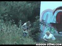 Wc536# Voyeur video from toilet
