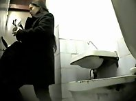 Wc158# Voyeur video from toilet