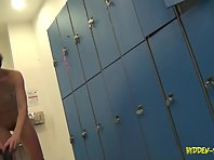 Lo1066# Voyeur video from locker room