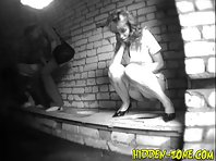 Wc678# Voyeur video from toilet