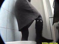 Wc827# Voyeur video from toilet