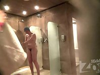 Sh1374# of hidden cam shower continues to shoot for you naked women in the shower. Before the lens