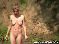 Nu217# Voyeur video from nude beach