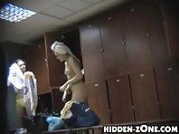 Lo228# Voyeur video from locker room