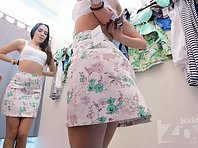 Sp2637# A hidden camera in the changing room gives us many pleasant minutes. Large and general plans