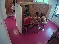 Lo1839# Watching the girls in the locker room is very exciting. Especially when there are a lot of t
