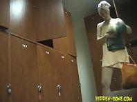 Lo711# Voyeur video from locker room
