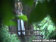 Wc283# Voyeur video from toilet