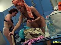 Lo1072# Voyeur video from locker room