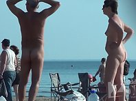 Nu1357# Lots of tits and cunts - it's a nudist beach! Wonderful views, beautiful women - what coul