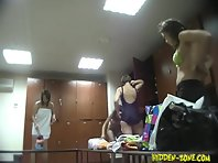 Lo723# Voyeur video from locker room