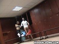 Lo205# Voyeur video from locker room