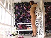 Sp2059# Indoor model agency hidden spy sex cam. She secretly filmed women who change clothes between
