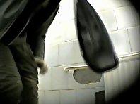 Wc135# Voyeur video from toilet