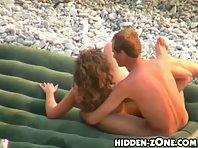 Nu158# Voyeur video from nude beach
